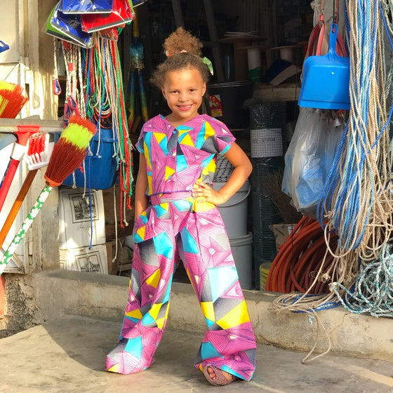Image of Palazzo pants in disco