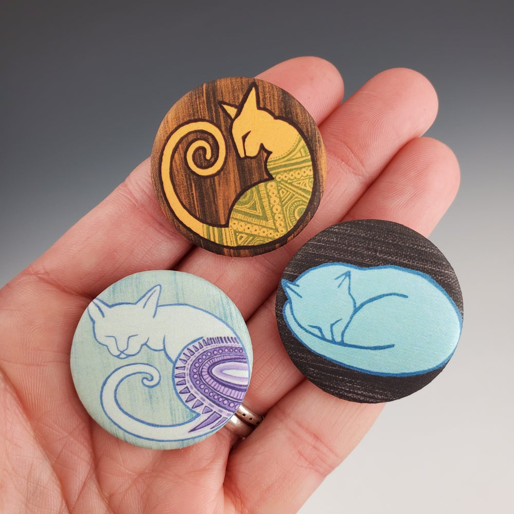 Image of Button Trio