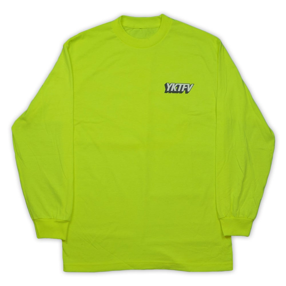 Image of Bold Logo Long Sleeve (Safety Green)