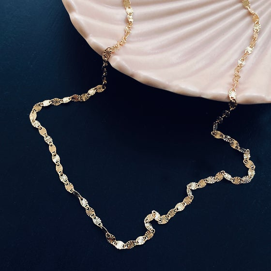 Image of MIRO Necklace / 24k Gold-coated silver