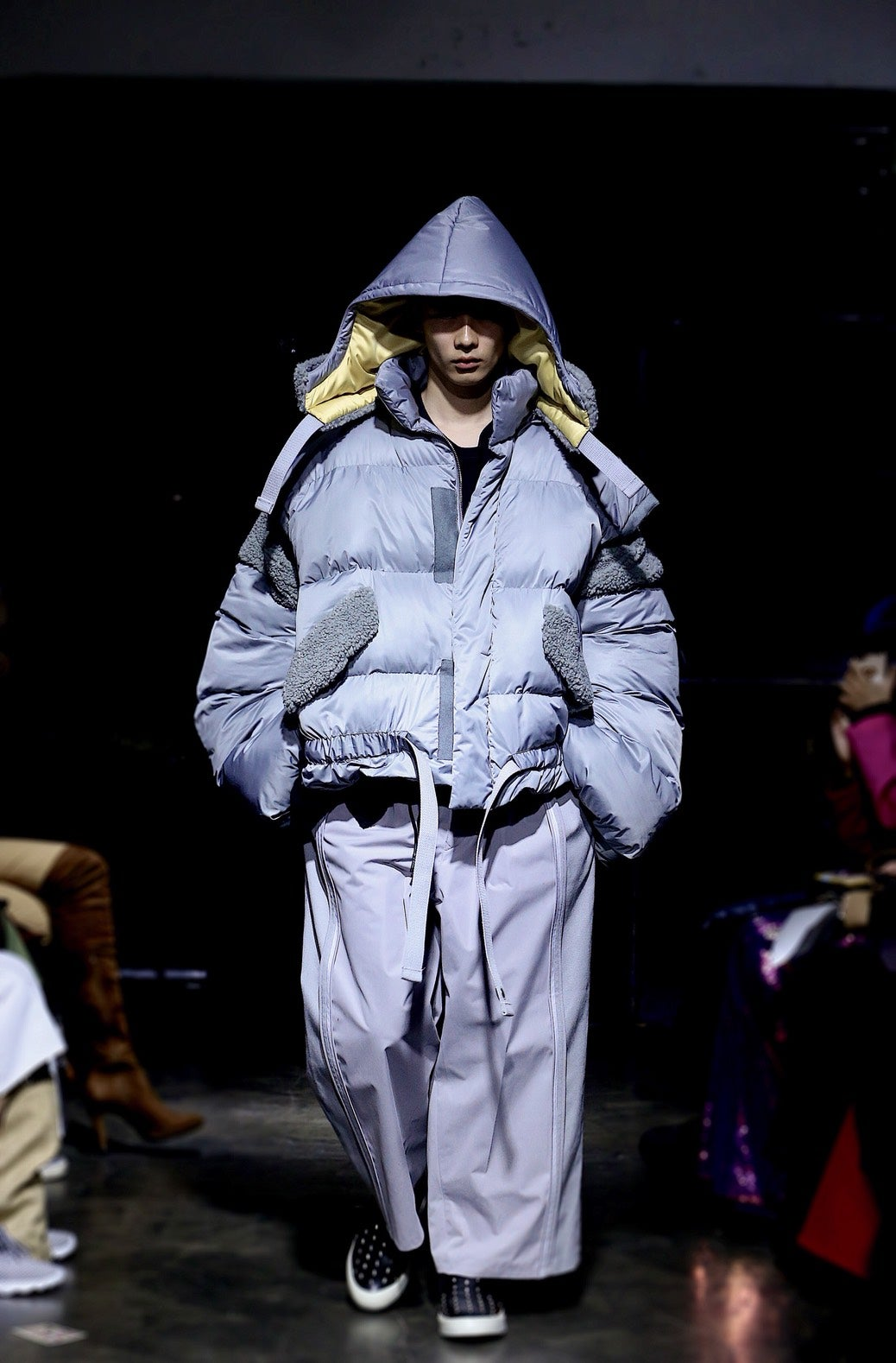 Image of (A)crypsis 2019A/W 'N/(A) SPACESHIP'-Detachable Sleeves Down Jacket