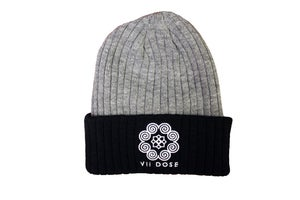 "Image of  ""Roots & Culture"" Beanies (Black/Grey & Full Grey)"