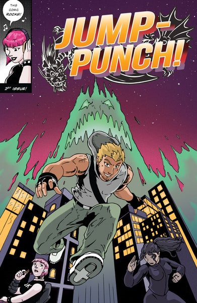Image of Jump Punch #1