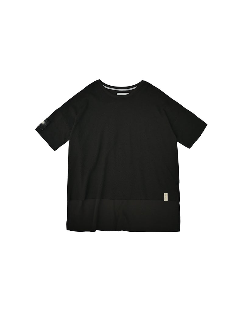 Image of (A)crypsis 2019A/W 'N/(A) SPACESHIP'-OVERSIZE BIG TEE