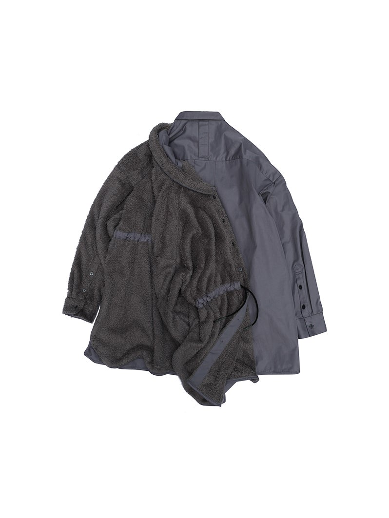 Image of (A)crypsis 2019A/W 'N/(A) SPACESHIP'-Oversize Double-Shirt