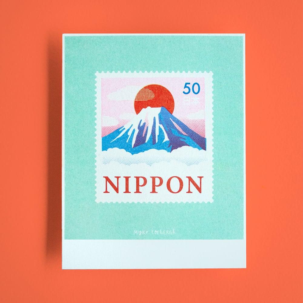 Image of Risoprint Stamp of Japan