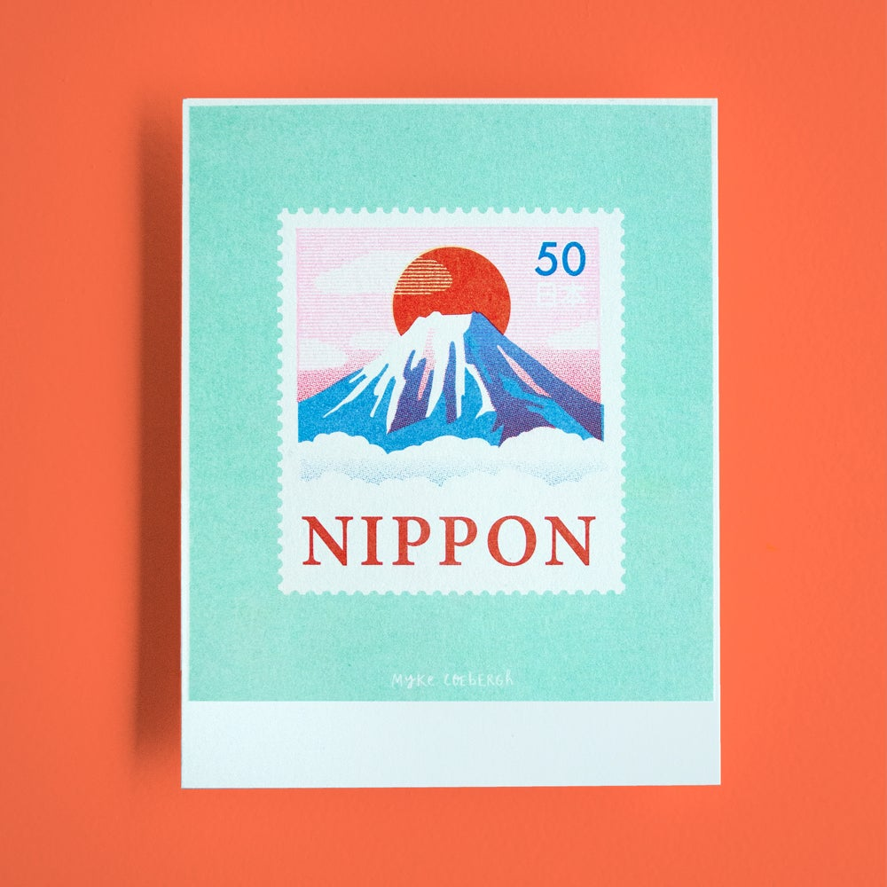 Image of Risoprint Stamp of Japan