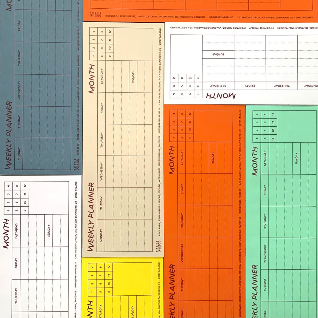 Image of Weekly planner