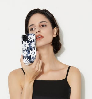 Image of Pop Silver Iphone 11 cover • Eyes