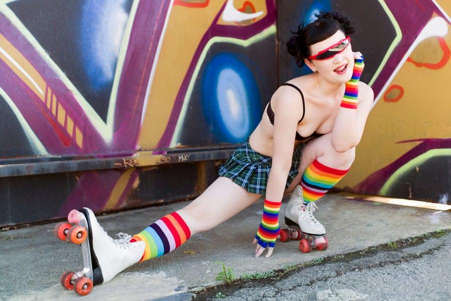"Image of Lady Krondor ""Rollergirl"" - Photo Print"
