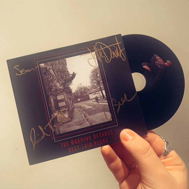 Image of Best Laid Plans Signed CD