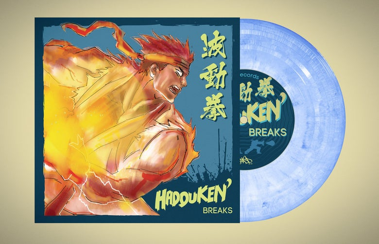 "Image of 7"" Vinyl - DJ RASP / DNA Records - Hadouken' Breaks"