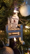 Personalized Christmas In Heaven Ornament