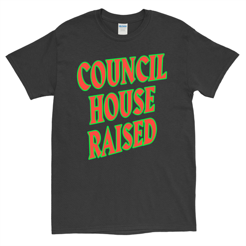 Image of COUNCIL HOUSE RAISED // T-SHIRT