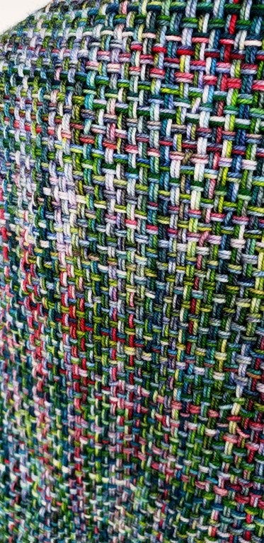 Image of Blue Ridge Spring, shawl, handwoven