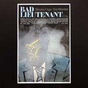 Image of Mondo Bad Lieutenant poster