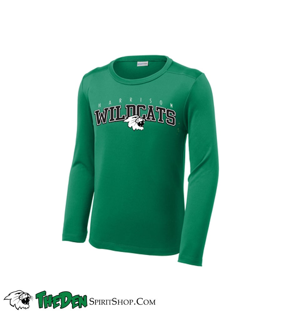 Image of YOUTH, Performance Longsleeve, Green