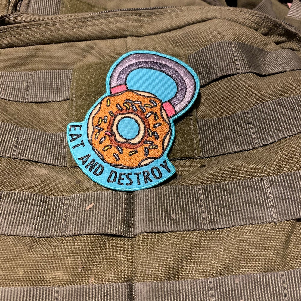 Image of Eat And Destroy - Klett Patch