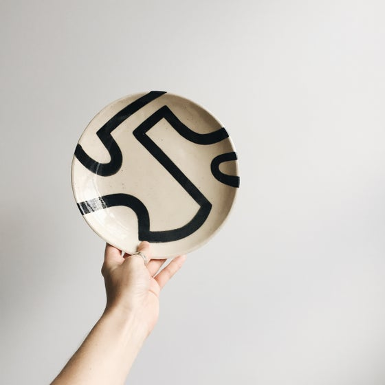 Image of Abstract Motif Plate