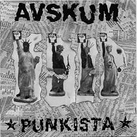 "Image of AVSKUM ""Punkista!"" CD"