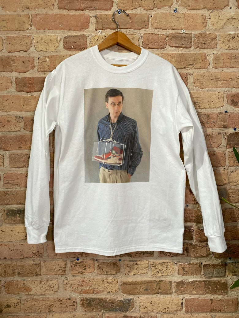Image of Brad Hall Necklace Long Sleeve Shirt