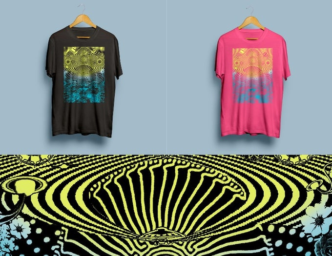Image of T-shirt's - Design by New Fumes - 2 Color Options