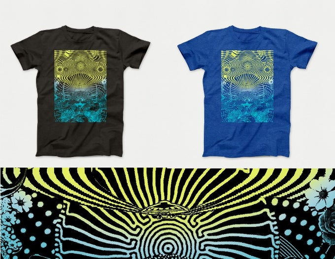 Image of DELUXE T-Shirt's - Design By New Fumes - 2 Color Options
