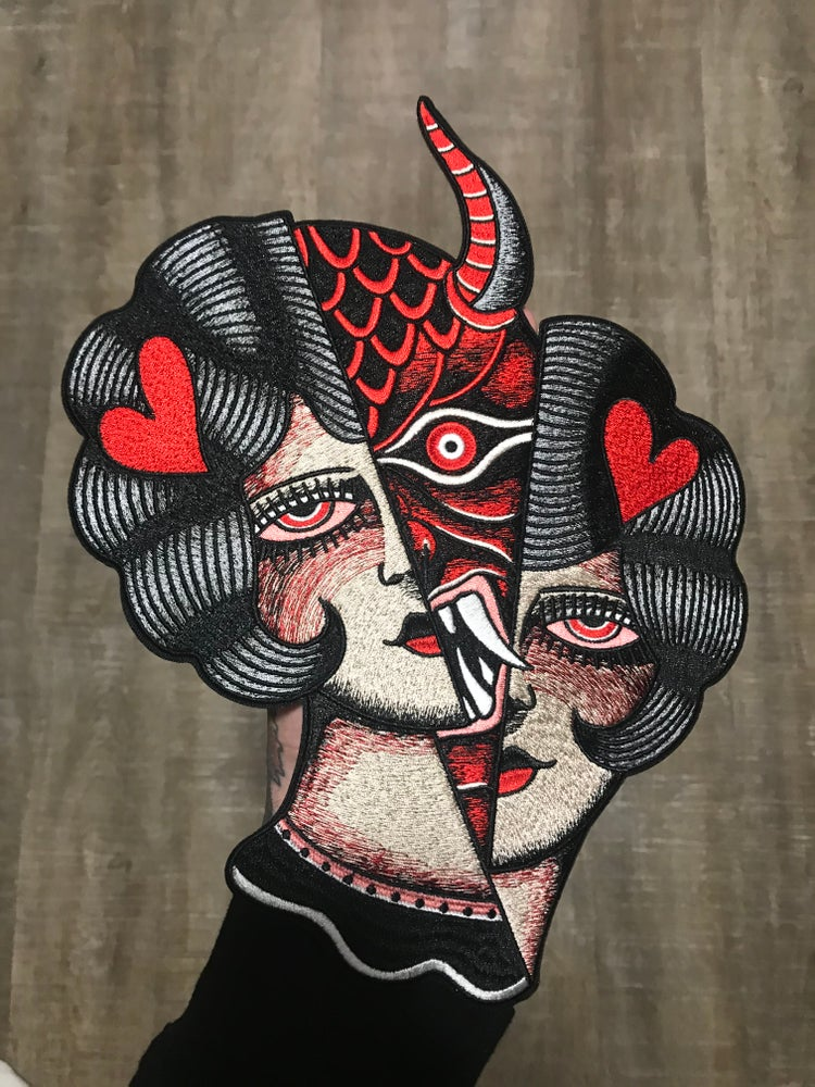 Image of Devil Woman Back Patch