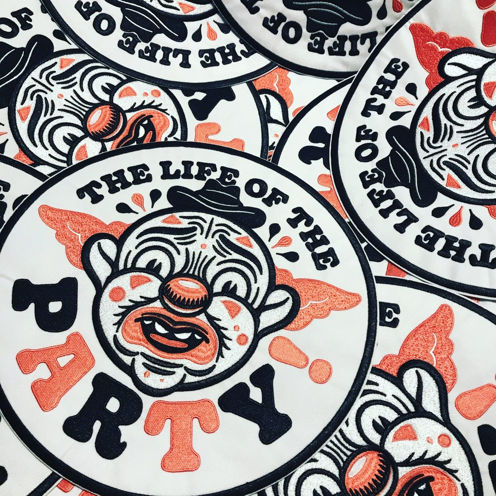 Image of Life of the Party Back Patch