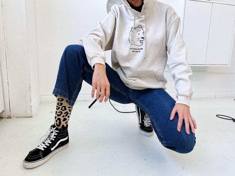 Image of hoodie non j'po lô