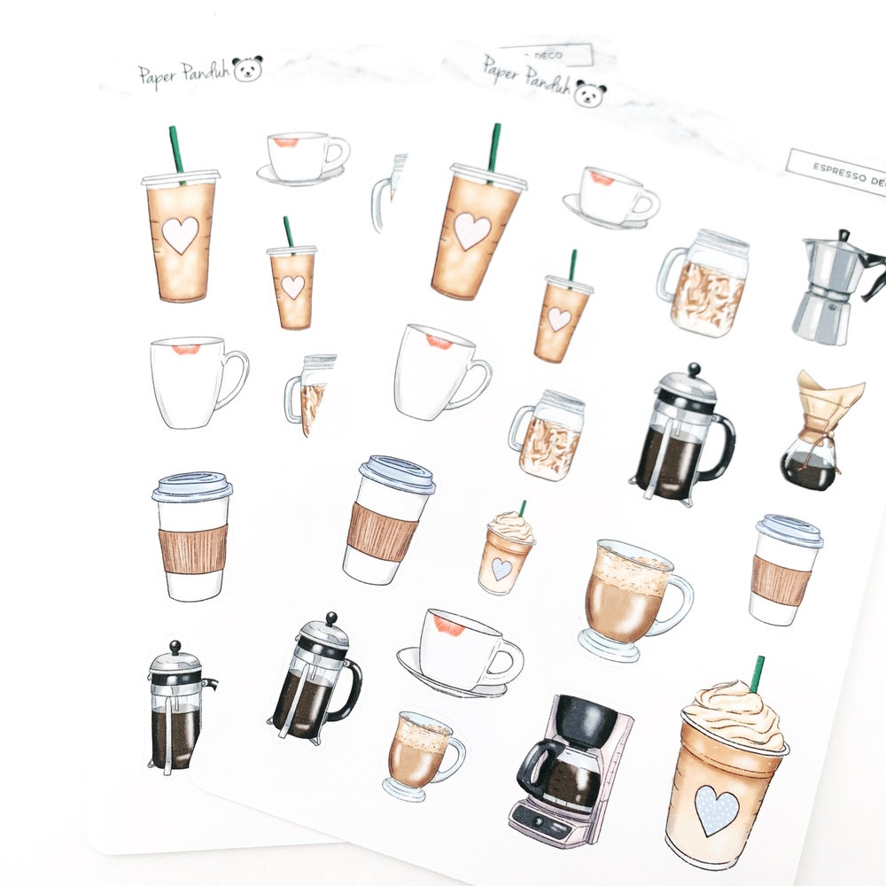 Image of Espresso Sticker Sheet