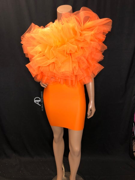 Image of Orange Parade Dress