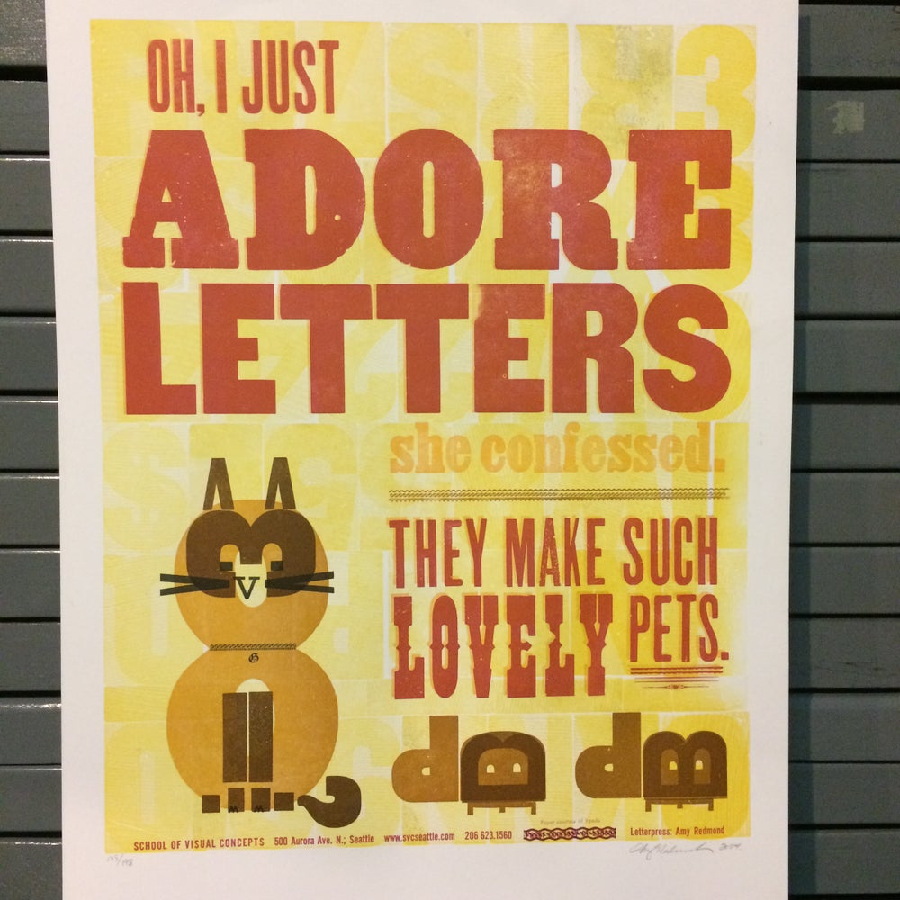 Image of Adore Letters
