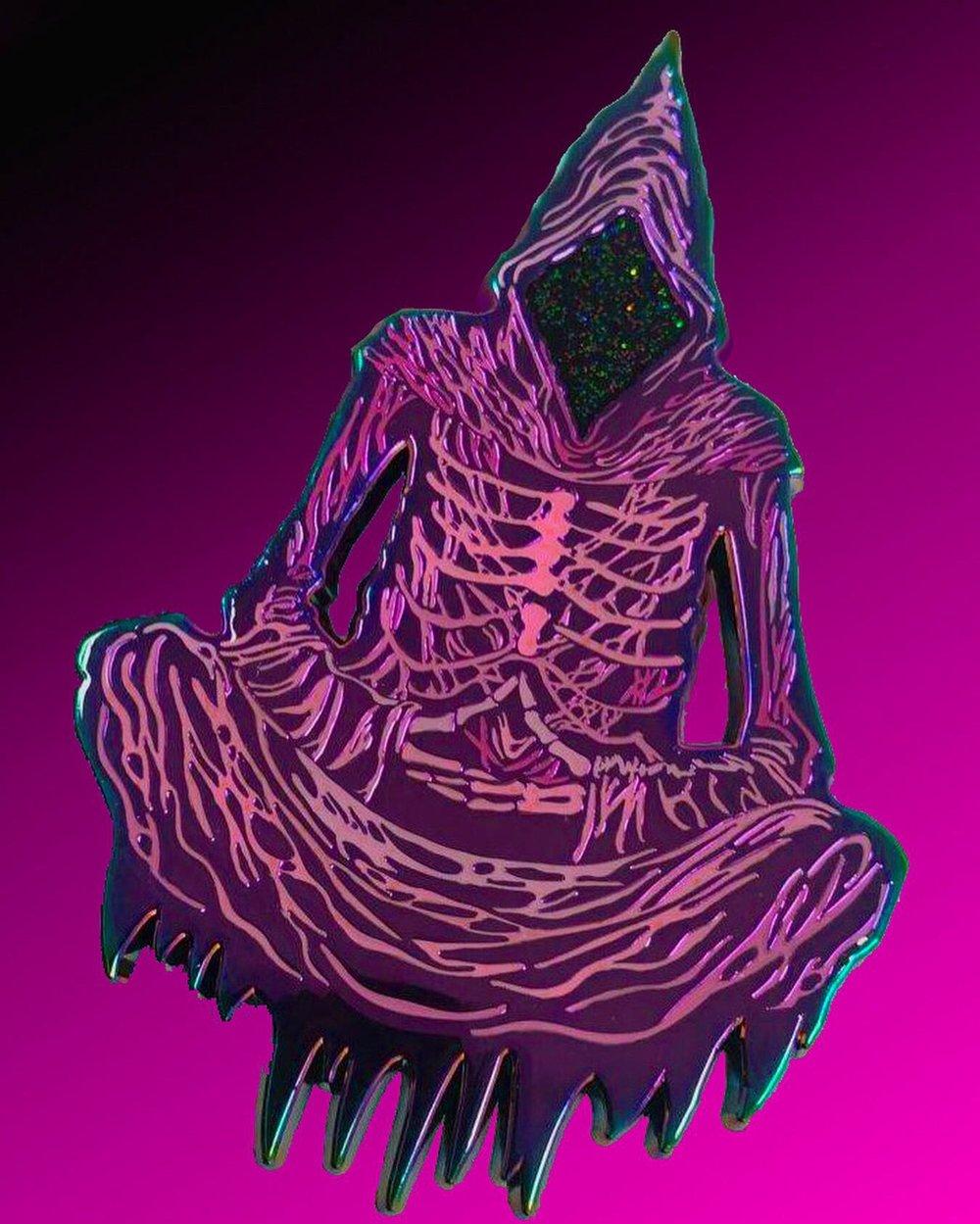 EGO DEATH CRAZY COLORS- Enamel Pins