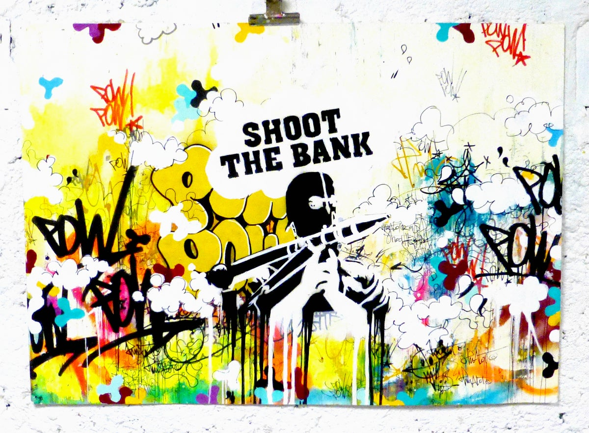 Image of SHOOT THE BANK 2013