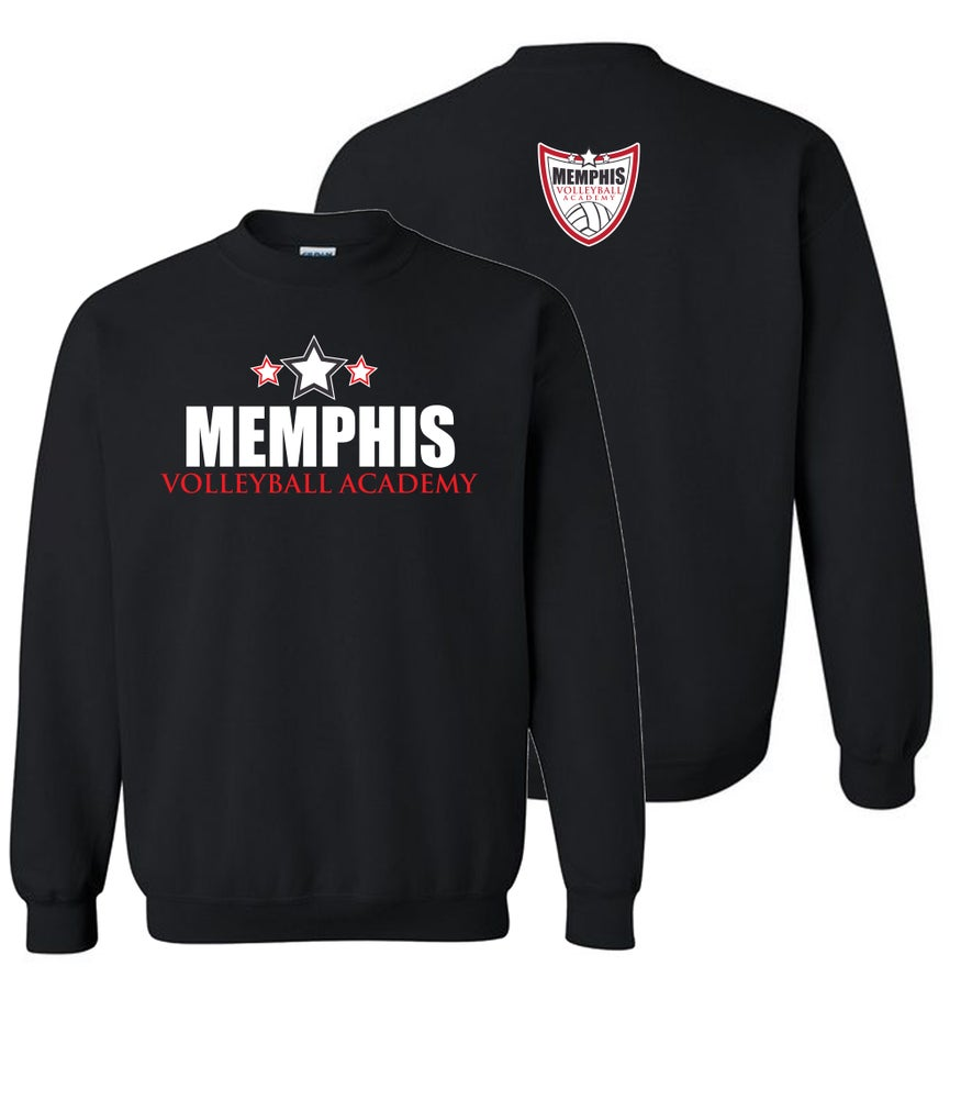 Image of Memphis Volleyball Academy ORIGNAL LOGO Sweatshirt (Multiple Colors Available)