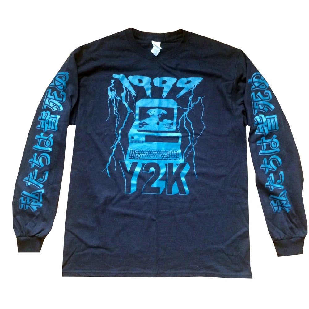 Image of 1999 Y2K DOOMSDAY LONG SLEEVE TEE
