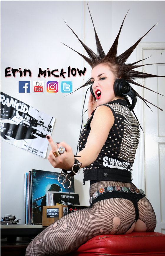 Image of SIGNED ERIN MICKLOW 11 x 17 Poster
