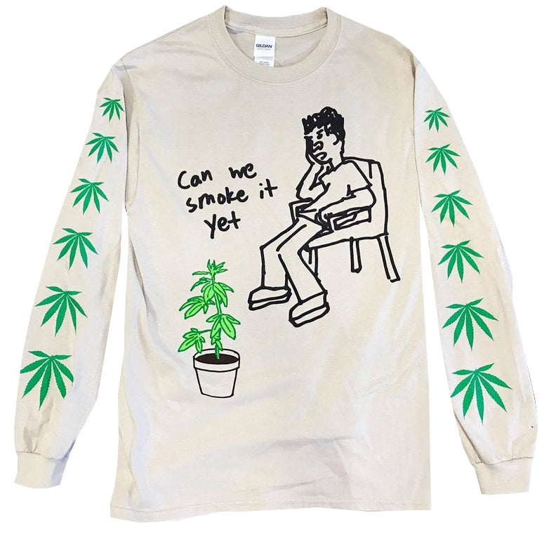 Image of Stoned II Death Long Sleeve Tee - HELLA LIMITED EDITION