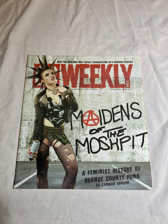 Image of SIGNED ERIN MICKLOW OC WEEKLY - BACK ISSUE
