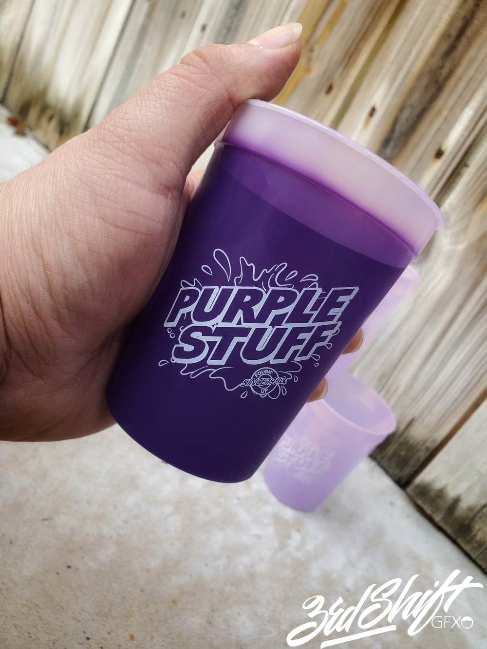 Purple Stuff 12 oz stadium cups (12 OZ)