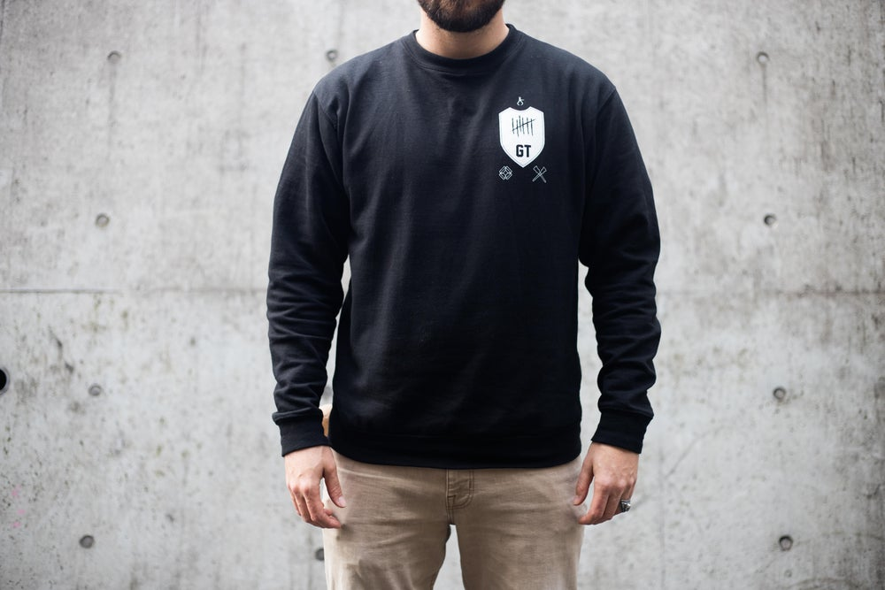 Image of SPIKE EM DOWN Crew neck sweater