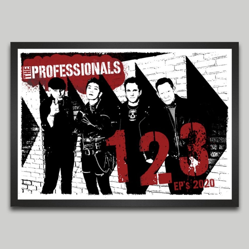 Image of 1, 2, 3 EPS 2020 SIGNED SCREEN-PRINTED POSTER