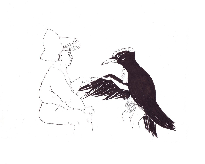 Image of L'oiseau | 24cm X 30cm