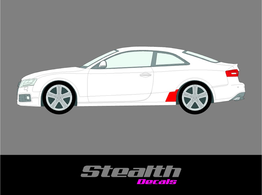 Image of Audi S5 Coupe 2007-2014 Stone Guard Chip Protection film