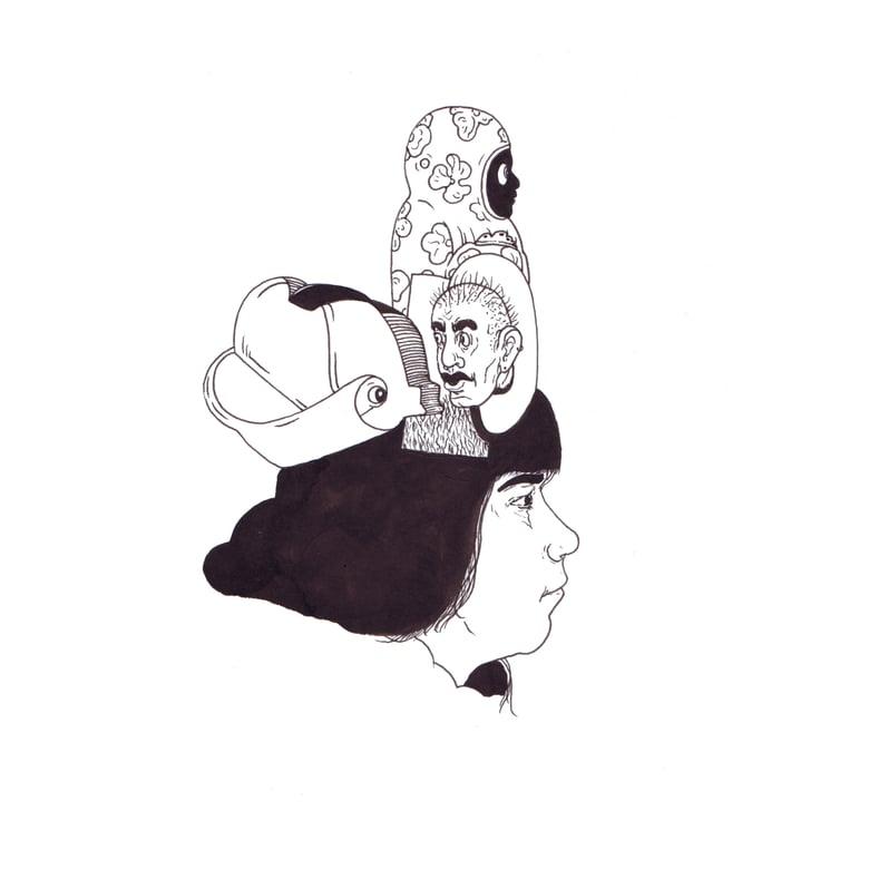 Image of Poupee | 20cm X 20cm