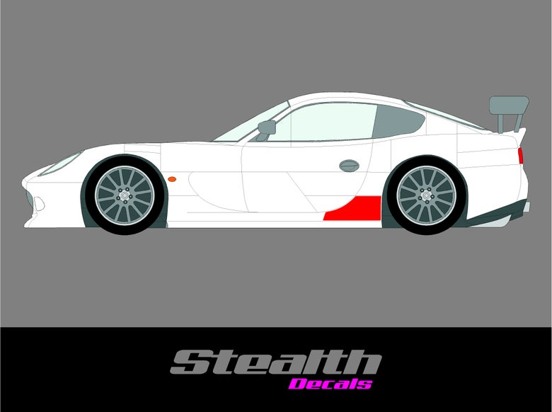 Image of Ginetta G50 Stone Guard Chip Protection film