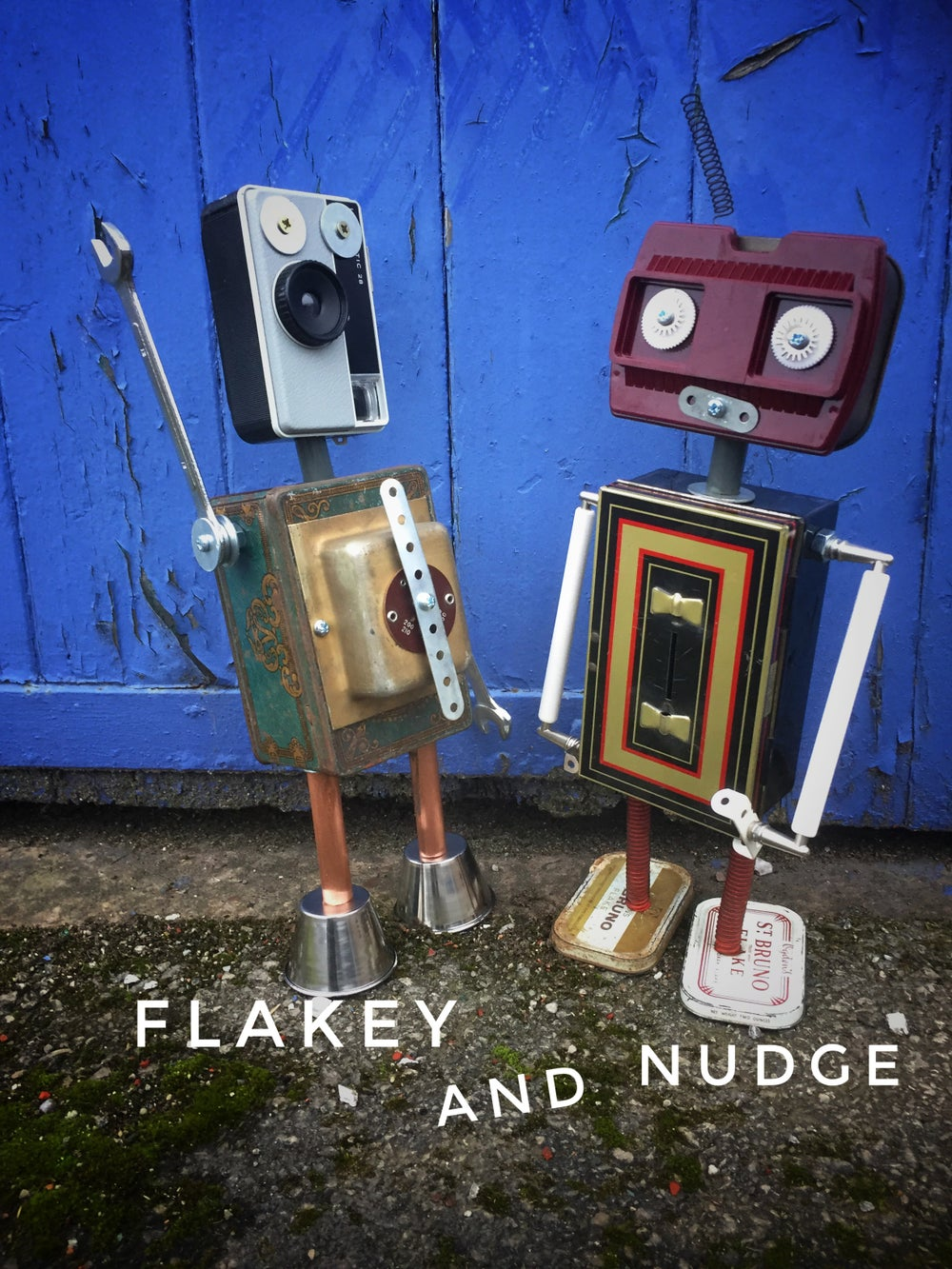 Image of Flakey and Nudge
