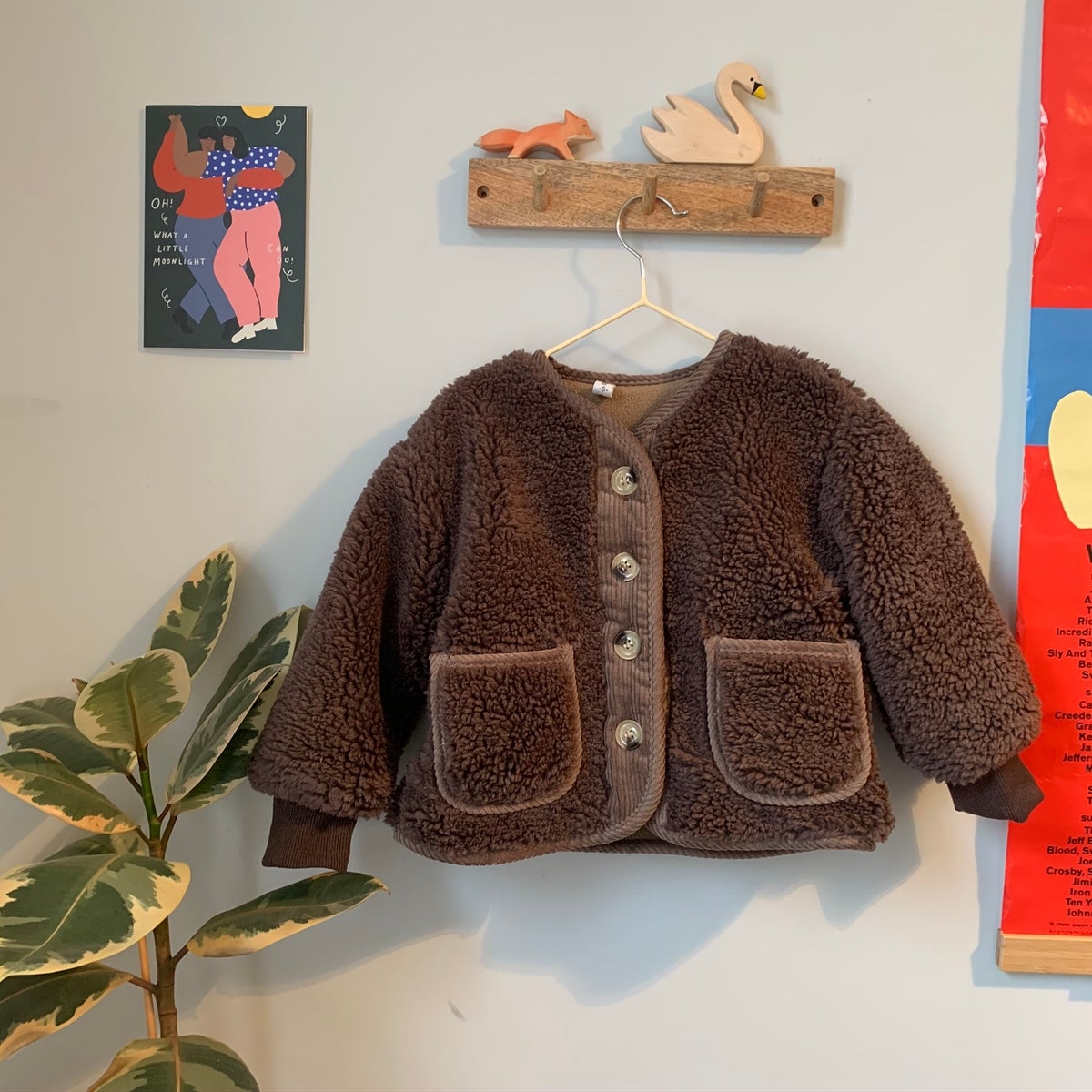 Image of THE ETTA JACKET - BROWN