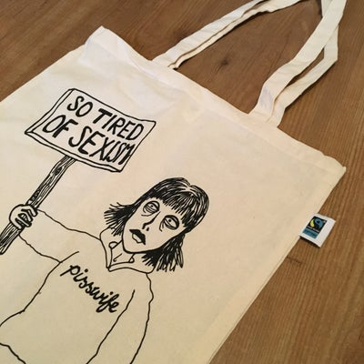 Image of Totebag: So Tired of Sexism